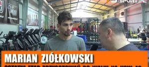 Marian Ziółkowski po ostatnich sparingach przed KSW 48 Lublin i walką z Gracjanem Szadzińskim! Wywiad!