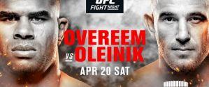 UFC St. Petersburg: Oleksiejczuk, Tybura, Jotko! Wynki na żywo! Live