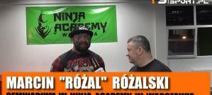 Marcin Różalski w Ninja Academy o: młodzieży, pomocy Materli, powrocie do KSW, Polakach w UFC! Wywiad!