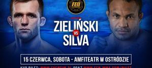 Fabiano Silva rywalem Adriana Zielińskiego w walce o pas na FEN 25