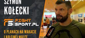 Szymon Kołecki: Pudzian zasługuje na rewanż, Oleksiejczuk nas oszczędza, świetna walka Trybsona! Wywiad!