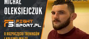 Michał Oleksiejczuk: Chcę walki z Shogunem, on zaznaczył swoją obecność w UFC! Wywiad!