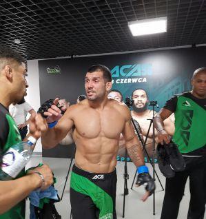 Rodolfo Vieira opuszcza ACA i na UFC Montevideo zmierzy się z Oskarem Piechotą