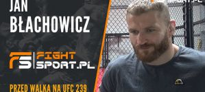 Jan Błachowicz - ostatni wywiad przed wylotem do Las Vegas na UFC 239 i walką z Luke Rockholdem! Wywiad!
