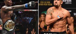Robert Whittaker vs Israel Adesanya oficjalnie na UFC 243 Australia