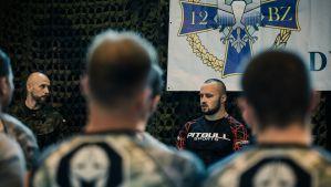 Tomasz Narkun trenował weteranów wojska polskiego podczas kolejnej edycji Projektu Wojownik