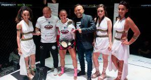 Sparta Fight Series 4: Barbara Nalepka z pasem K-1, kontrowersje w walce Oli Thompson vs Kamil Bazelak! Video