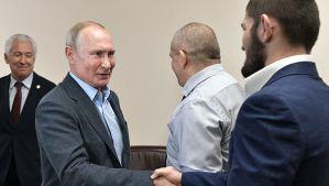 Władymir Putin z wizytą u Khabiba Nurmagomedova w Dagestanie! Video