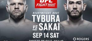 Szybka porażka Marcina Tybury na UFC Vancouver!