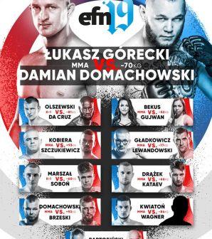 Envio Fight Night 19: Łukasz Górecki i Anita Bekus zwyciężają w Toruniu! Wyniki