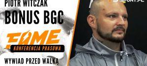 Bonus BGC: Marcin Najman to tylko przystanek na mojej drodze! Wywiad!