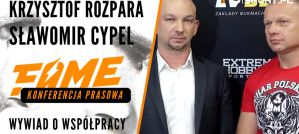 Krzysztof Rozpara i  Sławomir Cypel o zadzierzgnięciu współpracy FAME MMA i Polskiego Związku MMA! Wywiad!