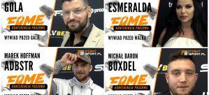 Gola, Boxdel, Adbuster, Kruszwil, Krycha, Kasti, Godlewska i Olejnik przed FAME MMA 5! Wywiady!