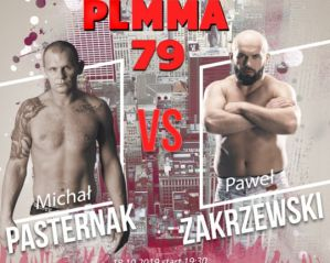 Michał Pasternak kontra Paweł Zakrzewski w walce wieczoru PLMMA 79