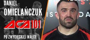 Daniel Omielańczuk znokautował Denisa Smoldareva na ACA 101! Wywiad!