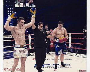 Pogromca Rico Verhoevena, Andrey Gerasimchuk podpisał umowę z Glory Kickboxing