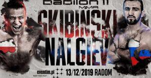 Daniel Skibiński zmierzy się z Nalgievem w walce wieczoru Babilon MMA 11