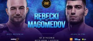 Magomed Magomedow rywalem Mateusza Rębeckiego na FEN 27 w Szczecinie