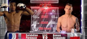 KSW Free Fight: Salahdine Parnasse vs Roman Szymański na KSW 48