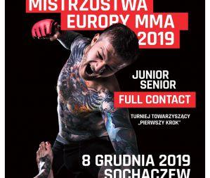 Mistrzostwa Europy Amatorskiego MMA 2019 w Sochaczewie