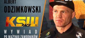 Albert Odzimkowski przed walką z Michałem Michalskim na KSW 52! Wywiad!