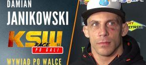 Damian Janikowski po walce na KSW 52: Najbardziej zależało nam, żeby dać dobrą walkę! Wywiad!
