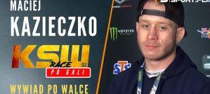 Maciej Kazieczko po fantastycznym nokaucie na otwarcie KSW 52! Wywiad!