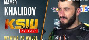 Mamed Khalidov po walce na KSW 52: Czułem, że fizycznie jest silniejszy ode mnie! Wywiad!