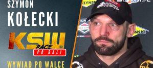 Szymon Kołecki po zwycięstwie na KSW 52: Postanowiłem, że biję do końca! Wywiad!