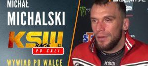 Michał Michalski nokautuje Alberta Odzimkowskiego na KSW 52! Wywiad!
