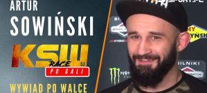 Artur ''Kornik'' Sowiński po zwycięstwie na KSW 52 ''The Race''! Wywiad!