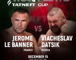 Ryży Tarzan vs Jerome Le Banner na finale Tatneft Cup 2019