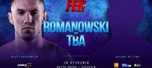 Sebastian Romanowski na karcie walk gali FEN 27