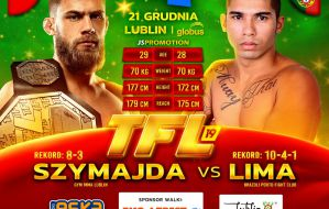 Hubert Szymajda vs Max Lima w walce o pas mistrzowski na TFL 19
