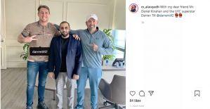 Darren Till i szef kartelu Kinahan na Twitterze
