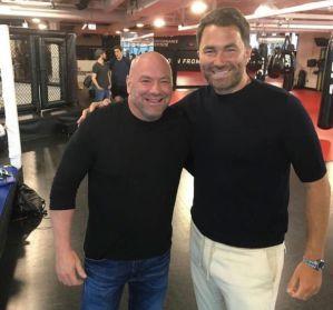 Eddie Hearn krytykuje prezesa UFC Danę White'a za galę UFC 249 Ferguson vs Gaethje