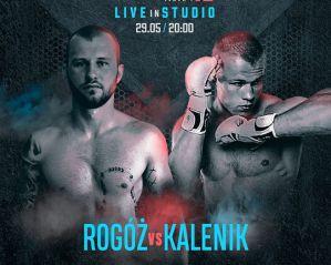 Patryk Rogóż zmierzy się z Piotrem Kalenikiem na Babilon MMA 13: Live in Studio