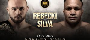 FEN 28: Mateusz Rębecki vs Fabiano Jacarezinho Silva o pas wagi lekkiej!