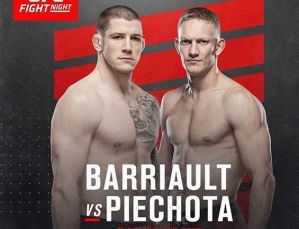 Walka Oskar Piechota vs Marc-André Barriault przeniesiona na UFC Fight Night APEX w Las Vegas