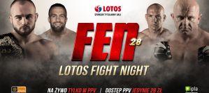 Gala FEN 28 LOTOS Fight Night - gdzie i jak wykupić dostęp PPV
