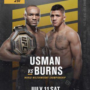 Gilbert Durinho Burns z koronawirusem Covid-19! Odwołana walka z Kamaru Usmanem na UFC 251