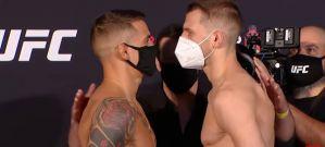 UFC on ESPN 12: Poirier minimalnie cięższy od Hookera! Villante 22 kg w górę od walki z Oleksiejczukiem! Video