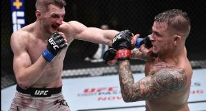 UFC on ESPN 12: Nieprawdopodobna walka Poiriera z Hookerem, grad poddań i nokautów! Wyniki & Video