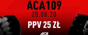 Gala ACA 109 w Polsce już 20 sierpnia!
