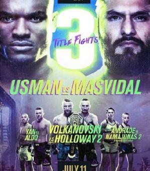 UFC 251 Usman vs. Masvidal: Abu Dhabi, 11/07/2020