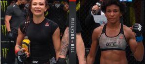 UFC Vegas 10: ''Karate Hottie'' wypunktowała Angelę Hill, skandal w walce Hermana z Rodriguezem! Wyniki