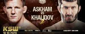 Rewanż Askhama i Khalidova w walce wieczoru gali KSW 55!