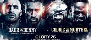 Glory Kickboxing chce powrócić eventem Glory 76 Badr Hari vs Benjamin Adegbuyi!