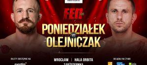 Oktawian Olejniczak nowym rywalem Piotra Poniedziałka na FEN 30