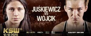 Sylwia Juśkiewicz kontra Karolina Wójcik na KSW 55